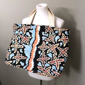 Diane Von Furstenburg Limited Edition canvas tote